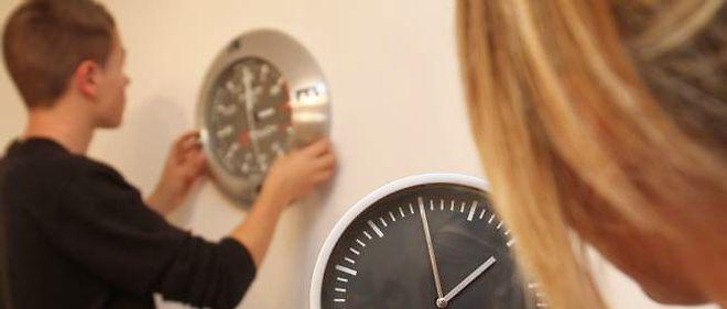 Attention à ne pas oublier de régler sa montre dimanche!