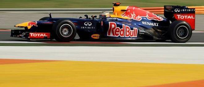 Sebastian Vettel sera encore l'homme à suivre demain ai départ du GP d'Inde. IL a signé le meilleur chrono en qualifications devant son coéquipier Mark Webber.