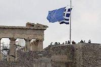 Le Premier ministre grec a annoncé mardi avoir trouvé un accord avec les créanciers du pays (UE, BCE et FMI) sur le paquet d'économies qu'Athènes doit réaliser pour assurer son avenir dans l'euro. ©Dimitri Messinis
