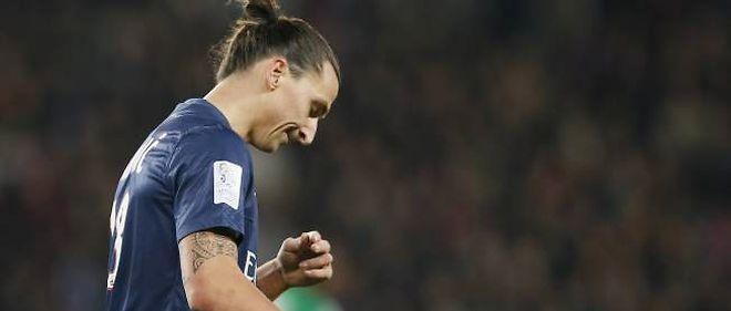 Zlatan Ibrahimovic a été expulsé (70e) et ratera le prochain déplacement du Paris SG, à Montpellier.