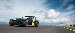 Caterham et Alpine se marient, pour le meilleur et pour le pire ! Ici la Superlight R600 toujours en vente, héritière de la Lotus 7.