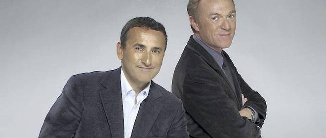 Christophe Hondelatte et Pascal Houzelot.