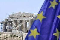 La Grèce pourrait avoir besoin de restructurer sa dette détenue par les Européens. ©Louisa Gouliamaki