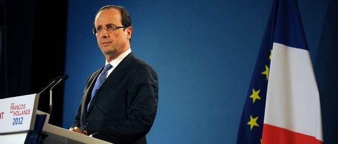 François Hollande pendant sa campagne présidentielle.
