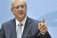 Le chef de file de l'Eurogroupe, Jean-Claude Juncker. ©GEORGES GOBET