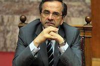 Le Premier ministre Antonis Samaras a réussi son pari de maintenir la cohésion de sa coalition. ©Louisa Gouliamaki