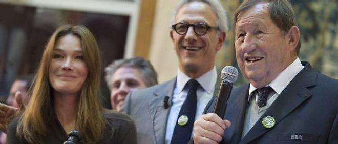 Carla Bruni et Guy Roux dimanche aux Hospices de Beaune.