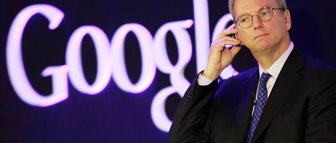 Le directeur général de Google, Eric Schmidt, pourrait avoir du souci à se faire.