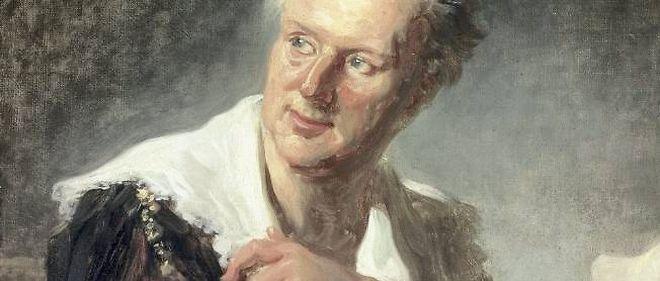 """Fragonard, """"figure de fantaisie autrefois identifiée à tort comme Denis Diderot"""" (détail)."""