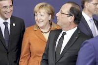 Le 18 octobre lors de l'ouverture du sommet européen à Bruxelles ©Danny Gys