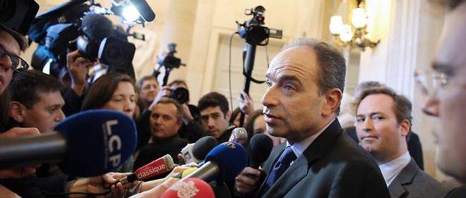 Jean-François Copé mercredi à l'Assemblée.
