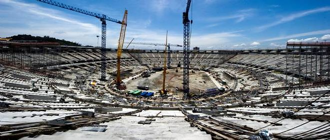Le mythique stade Maracana est actuellement en pleine rénovation afin de répondre aux normes Fifa en matière d'enceintes sportives.