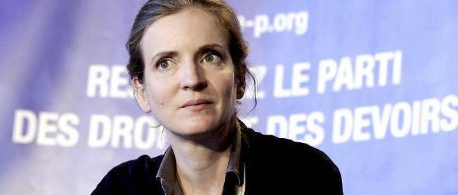 Nathalie Kosciusko-Morizet, la députée-maire de Longjumeau.
