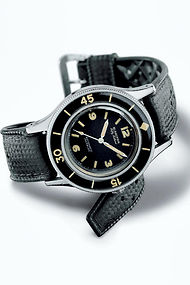 La Fifty Fathoms, modele emblematique de Blancpain.