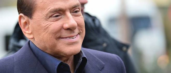 Silvio Berlusconi, à Milanello le 8 décembre 2012.