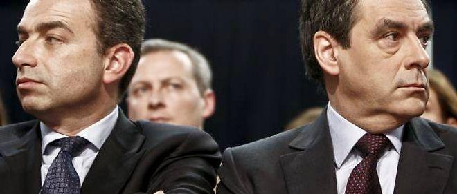 Les deux rivaux pour la présidence de l'UMP, côte à côte lors des journées parlementaires de l'UMP, à Marcq-en-Baroeul.