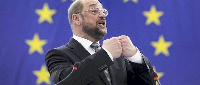 Martin Schulz, président du Parlement européen, conditionne l'attribution du budget 2013 de l'UE au paiement des arriérés de 2012.