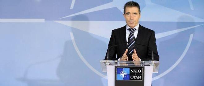 """""""J'exhorte le régime à mettre fin aux violences, à réaliser quelle est la situation aujourd'hui et à engager un processus pour satisfaire les demandes légitimes du peuple syrien"""", a déclaré jeudi le secrétaire général de l'Otan, Anders Fogh Rasmussen."""