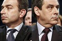 Jean-François Copé et François Fillon., les duellistes. ©Mathieu Rondel / Maxppp