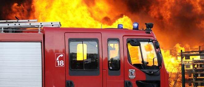 Au plus fort de l'incendie, vers 23 heures, le sinistre a mobilisé 96 hommes (photo d'illustration).