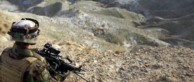 Un soldat de la mission de l'Otan en Afghanistan (Isaf) (photo d'illustration).