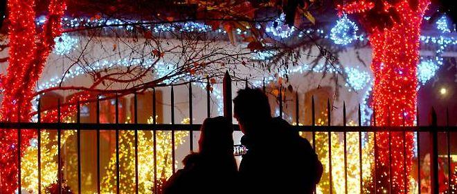 Dans l'Yonne, certains en veulent aux décorations de Noël...