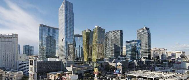 La skyline de Las Vegas.