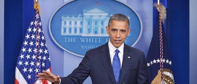 Barack Obama pointe la mauvaise volonté des républicains face à la menace d'une brutale cure d'austérité programmée © Mandel Ngan / AFP