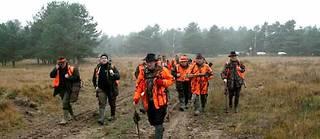 Les chasseurs se constituent aussi des réseaux de liens professionnels. ©E Maillart
