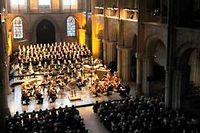 Les Flâneries musicales à la basilique Saint-Rémi. ©Axel Coeuret pour les Flâneries Musicales