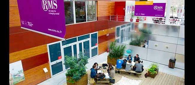 La Reims Management School, au 20e rang européen. ©Pascal Sitler/REA
