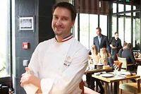 Le chef étoilé Philippe Mille officie au Jardin. ©Maurice Rougemont