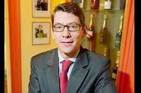 David Chatillon, directeur général de l'Union des maisons de champagne. ©Pascal Sitler/REA