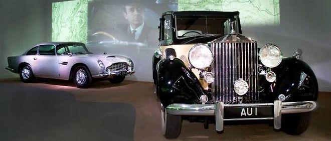 Les Rolls Royce de James Bond sont au musée de Beaulieu, en Angleterre, dédié aux voitures de l'agent 007.