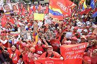 Hugo Chavez, est toujours hospitalisé à la Havane. Les rennes du pouvoir sont tenues par le vice-président depuis le 10 décembre, ce qui alimente les tensions avec l'opposition. ©Leo Ramirez