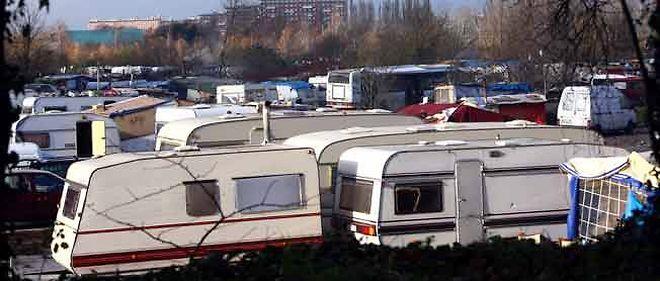 Camps Roms rue de Marquillies.