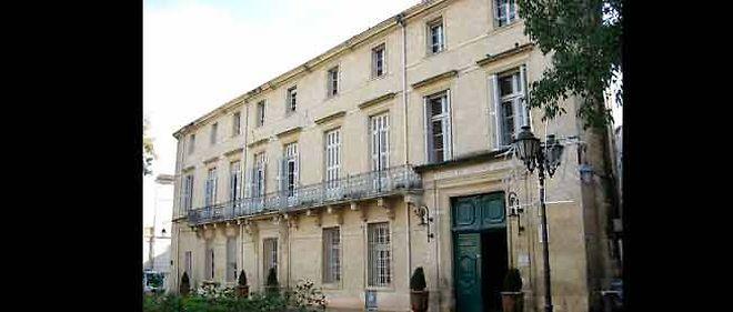 La première mairie de 1816 à 1975.