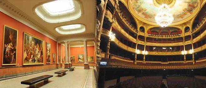 Le musée Fabre et l'opéra ont retrouvé leur splendeur.