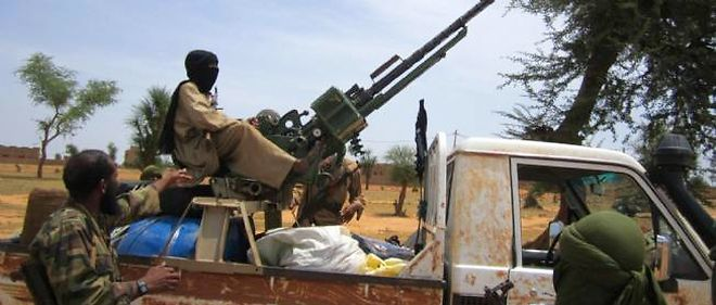 Les djihadistes se seraient dirigés vers l'ouest du Mali.