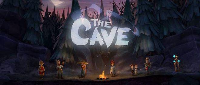 Les sept héros de The Cave. Il faut n'en choisir que trois pour rentrer dans la caverne parlante.