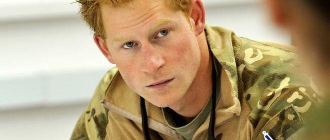 Le prince Harry en Afghanistan, le 1er novembre 2012.