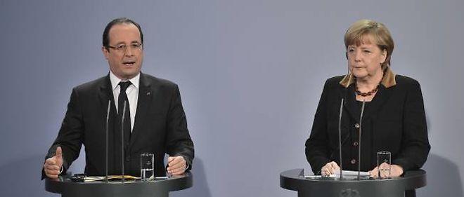 François Hollande et Angela Merkel célébraient les 50 ans du traité de l'Élysée, à Berlin.