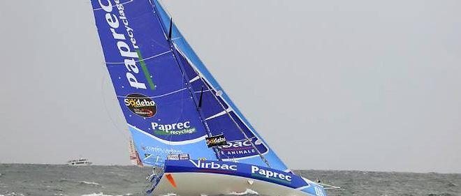 Le voilier de Jean-Pierre Dick, Virbac-Paprec 3.