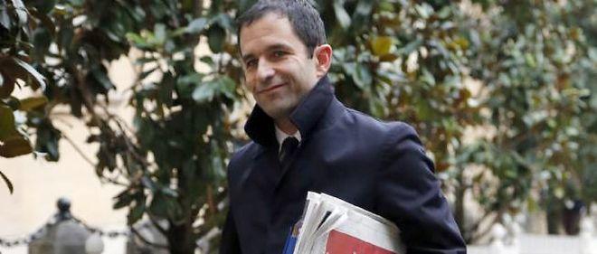 Benoît Hamon, le ministre de l'Économie solidaire.