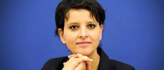 Najat Vallaud-Belkacem le 7 janvier 2013