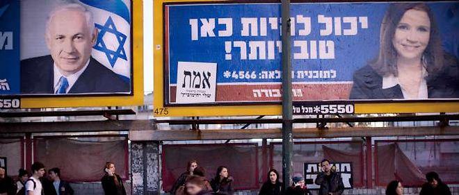 Benjamin Netanyahu dit Bibi (Likoud) est donné largement gagnant pour les législatives israéliennes du 22 janvier.