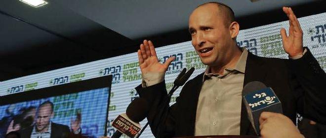 Le chef du parti de droite nationaliste Naftali Bennett a obtenu 12 sièges au Parlement israélien. Quatre fois plus qu'en 2009.