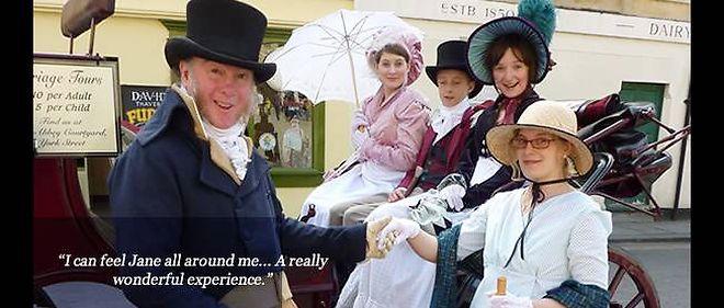 """Des """"janeite"""", fans de Jane Austen."""