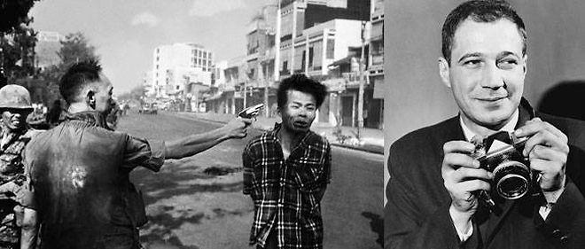 La fameuse photo d'Eddie WIlliams (à droite), lui ayant valu le prix Pulitzer.