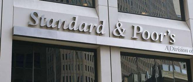 La façade du siège de Standard & Poor's, à New York.